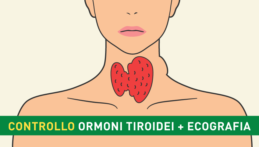 Controllo Ormoni Tiroidei ed Ecografia